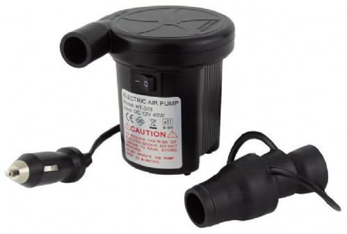 Yellowstone Tornado Compact Electric Pump with Car Charger - 12V